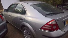 breaking nice silver ford mondeo 5 door diesel all of the parts are available