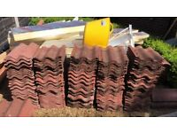 Marley Bold Roll Red Roof Tiles - USED