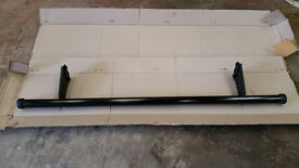 Mitsubishi L200 Rear Bumper Bar Short Bed Black 2007 - 2016