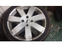 Ford Focus 17 inch wheel with tyre 215/40/17