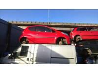 Peugeot 107 breaking in red Three door 56 reg