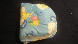 Foldable infant crib bed with mosquito net. ( With pillow)