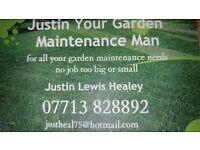 Justin Your Garden Maintenance Man