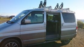 Mazda Bongo tintop campervan with karitek easyload roofrack, looked after, lovely habitation,ps,ac