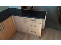 Kitchen Units and Worktop - Excellent Condition