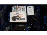 Sega Master System 2 boxed with games
