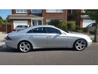 2006 MERCEDES-BENZ CLS CLASS CLS320 3.0 CDI 4D AUTO DIESEL FSH SAT NAV HEATED LEATHER SPORT MOT