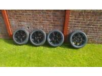 """15"""" multifit alloy wheels"""