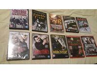 Joblot of action dvds