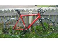Custom road / hybrid bike