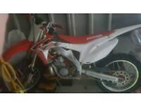 honda cr250 2005 ( not cr yz kx rm )