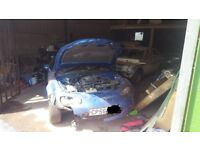 2007 MAZDA MX5 PARTS 47k miles (Twisted Chassis & body damage but other parts are in good condition)