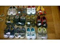 12 pairs or Boys. Clarks/converse shoes