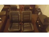 Honda civic executive 2001-2005 front only leather seats