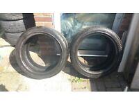 2 Tyres Accelera Alpha 245/40/17
