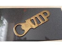 Vintage VIP Brass Bottle Opener