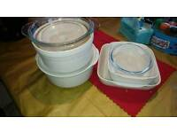 Casserole/Pyrex dishes