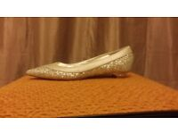 Brand new dune sparkle pumps size 3