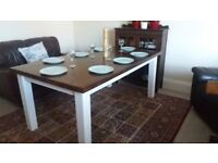 Very large & chunky dining table