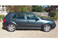 Dark grey VW Golf mark 4. Good condition, single owner for past 11 years, full service history.