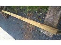 """3"""" x 3"""" timber fence post"""