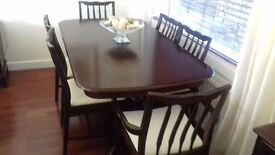table, chairs, 2 units