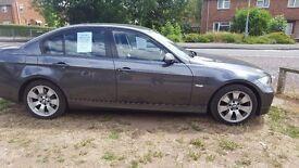 BMW 320 D SE GREY SALOON NO KNOWN FAULTS 10 MONTHS MOT 2 PREVIOUS OWNERS VGC