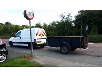 Citroen berlingo van & trailer