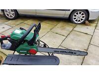 """Qualcast petrol chain saw 18"""" blade"""