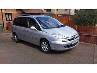 Peugeot 807 2.0 HDI Diesel Manual MPV 2008 7 Seater (not Alhambra, Zafira, Galaxy, Sharan, C8)