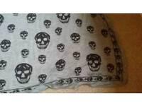 Alexander McQueen Skull Scarf - *Genuine*