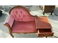 Shabby chic Telephone sofa
