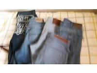 Mens jeans 34l x 34w