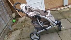 Graco single stroller pushchair