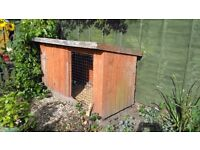 Dog kennel for sale in sectional pieces