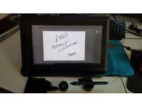 Wacom Cintiq 13 HD Interactive Pen Display (EXCELLENT CONDITION) + case & glove