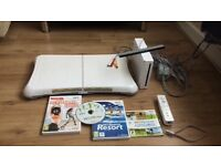 White wii fit bundle