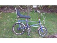 Original Rayleigh Chopper kids bike