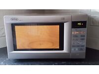 Belling 900 Watt Microwave M385 TCS. Automatic Cooking & Defrosting. Digital Display & Control Panel