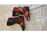 Spada Slipstream Motorcycle Boots Size 8