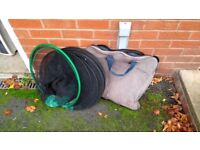 8FT ROUND KEEP NET AND BAG