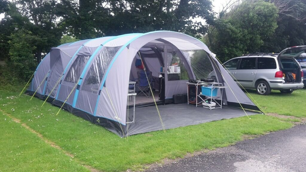 Airgo Solus Horizon 6 Inflatable Tent Used Twice In