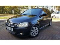 Vauxhall Corsa C SXI 1229cc - 3dr - Black - CD/AUX - sports features - full service - £1100 ono