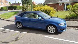 Audi A3 cabriolet 20.tdi 140 , 59000 miles ,replaced cam belt ,regular services.