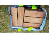 Reclaimed parquet flooring blocks