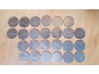 Coins 50p kew gardens full collection
