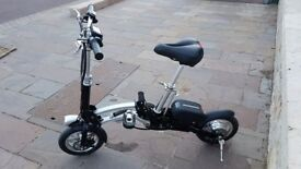 Electric folding bike folds in one second like New very high quality