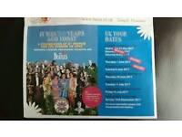 2x tickets bootle Beatles philharmonic