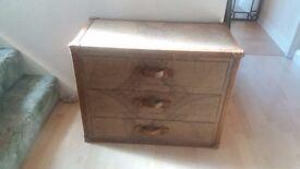 Three drawer Atlas chest .