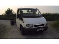 ford transit chassis cab millenium shape t350 recovery box van pickup